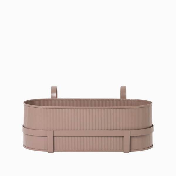 Ferm Living Bau Balcony Box Dusty Rose