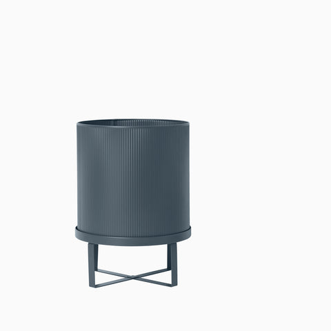 Ferm Living Bau Pot Large Dark Blue