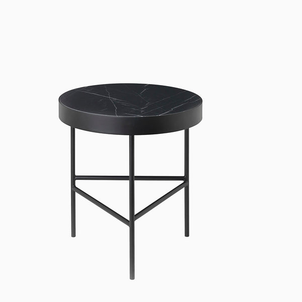 Ferm Living Marble Table Black Marquina