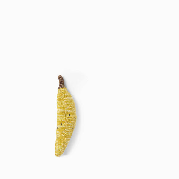 Ferm Living Fruiticana Banana Rattle