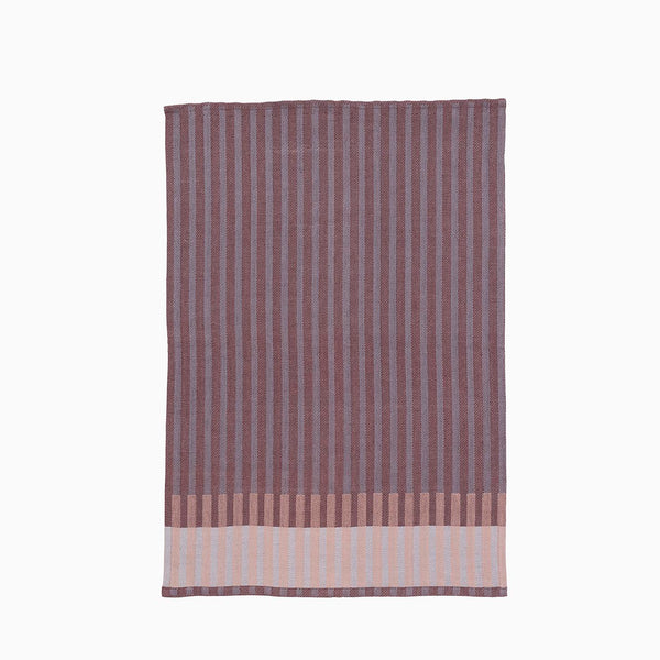Ferm Living Grain Tea Towel Bordeaux
