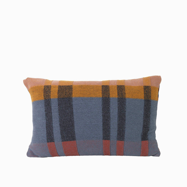 Ferm Living Medley Knit Cushion - Dusty Blue