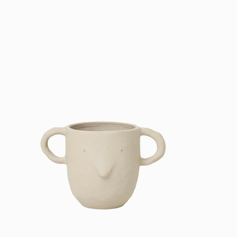 Ferm Living Mus Plant Pot Large Sand