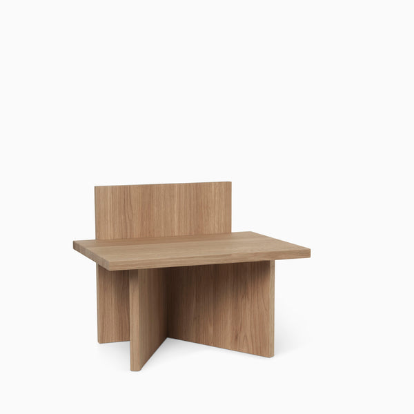 Ferm Living Oblique Stool - Oak