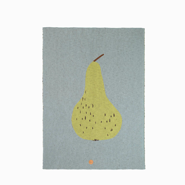 Ferm Living Pear Blanket