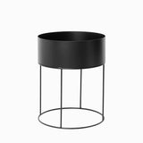 Ferm Living Plant Box Round Black