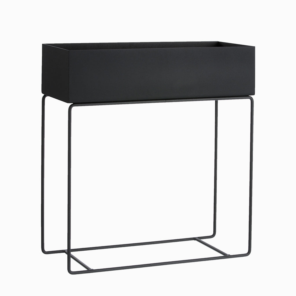 ferm living planter box black arrival hall. Black Bedroom Furniture Sets. Home Design Ideas