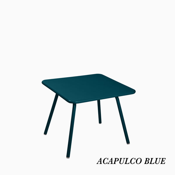 Fermob Luxembourg Kids Table Acapulco Blue