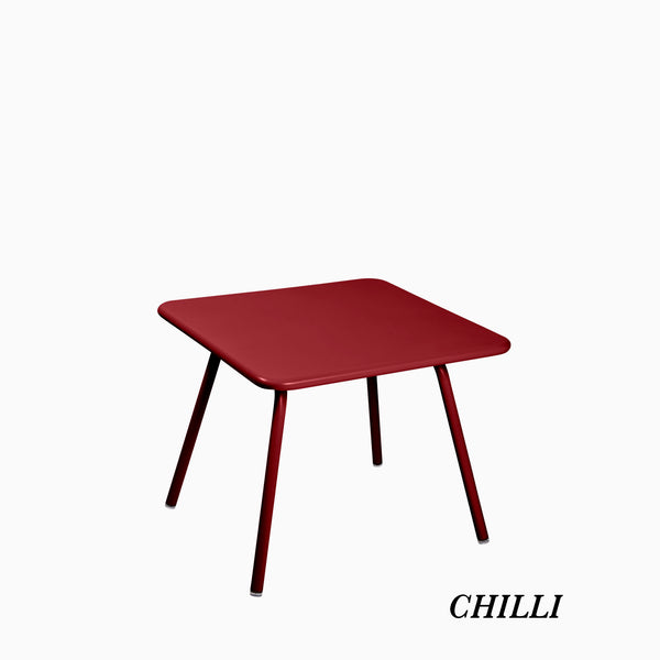 Fermob Luxembourg Kids Table Chilli