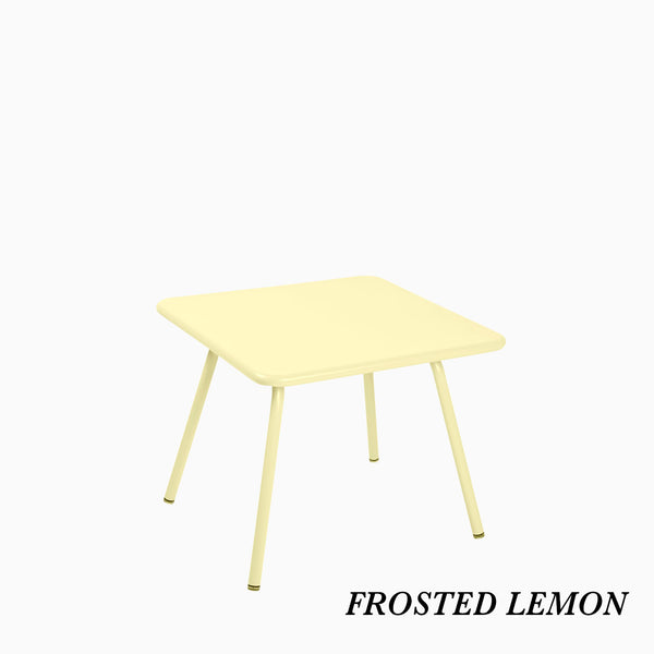 Fermob Luxembourg Kids Table Frosted Lemon