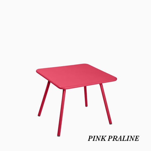 Fermob Luxembourg Kids Table Pink Praline