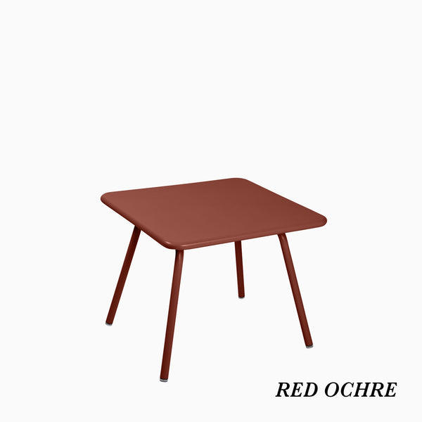 Fermob Luxembourg Kids Table Red Ochre