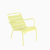 Fermob Luxembourg Low Armchair Frosted Lemon