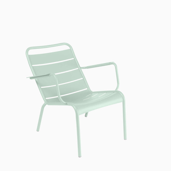 Fermob Luxembourg Low Armchair Ice Mint