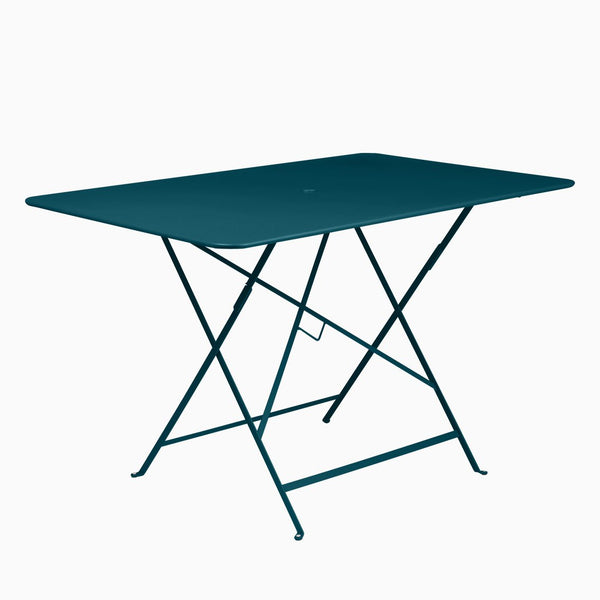 Fermob Bistro 117x77cm Table Acapulco Blue