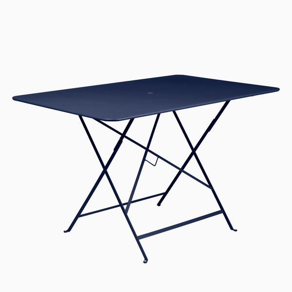 Fermob Bistro 117x77cm Table Deep Blue