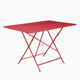 Fermob Bistro 117x77cm Table Poppy