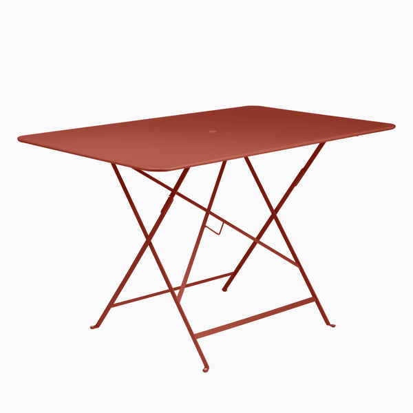 Fermob Bistro 117x77cm Table Red Ochre
