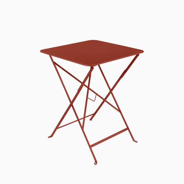 Fermob Bistro 57x57cm Table Red Ochre