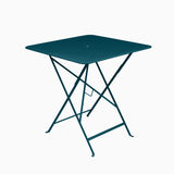Fermob Bistro 71x71cm Table Acapulco Blue