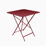 Fermob Bistro 71x71cm Table Chili
