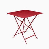 Fermob Bistro 71x71cm Table Poppy