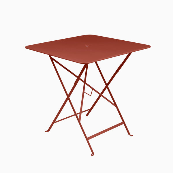 Fermob Bistro 71x71cm Table Red Ochre