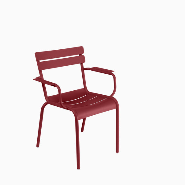 Fermob Luxembourg Armchair Chili