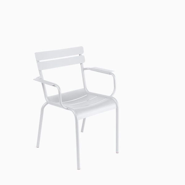 Fermob Luxembourg Armchair Cotton White