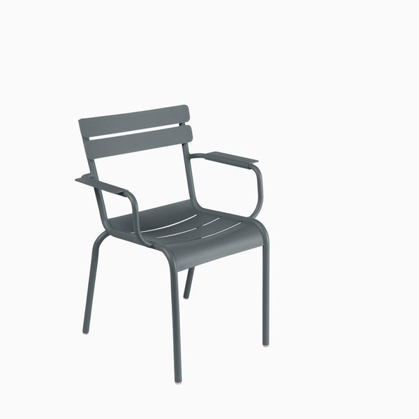 Fermob Luxembourg Armchair Storm Grey