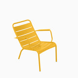 Fermob Luxembourg Low Armchair Honey