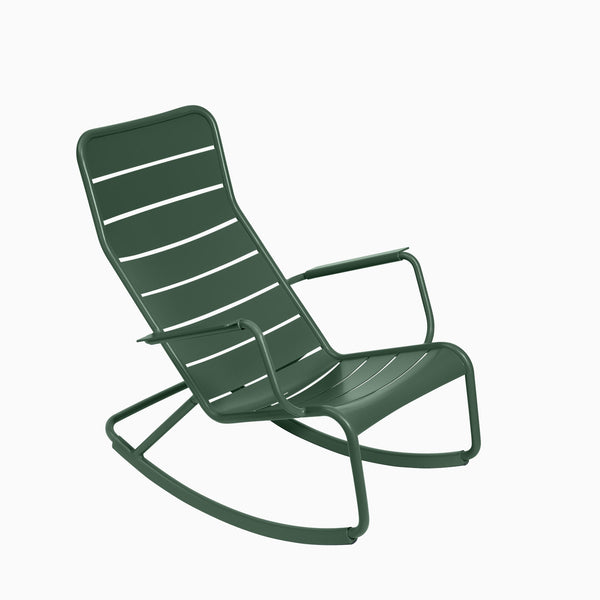 Fermob Luxembourg Rocking Chair Cedar Green