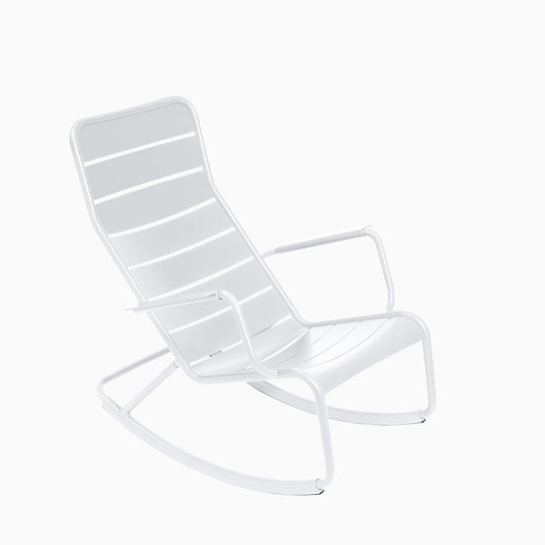 Fermob Luxembourg Rocking Chair Cotton White