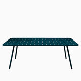 Fermob Luxembourg Table 207cm Acapulco Blue