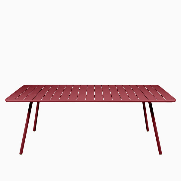 Fermob Luxembourg Table 207cm Chili