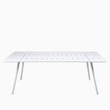 Fermob Luxembourg Table 207cm Cotton White
