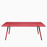 Fermob Luxembourg Table 207cm Poppy