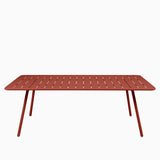 Fermob Luxembourg Table 207cm Red Ochre