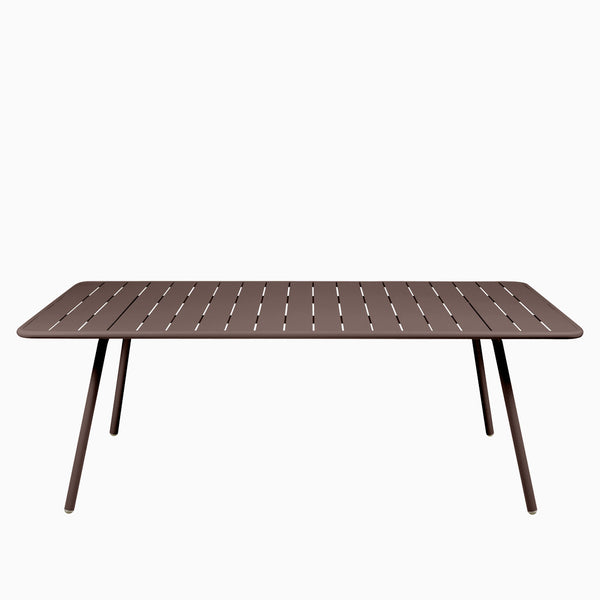 Fermob Luxembourg Table 207cm Russet