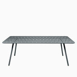 Fermob Luxembourg Table 207cm Storm Grey