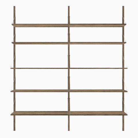 Frama Shelf Library H1852 Double Section Dark