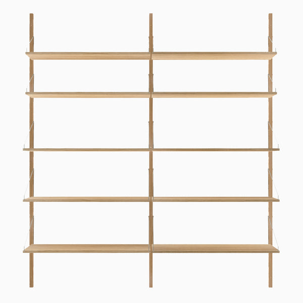 Frama Shelf Library H1852 Double Section Natural