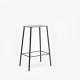 Frama Adam Stool 65cm Black Leather