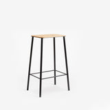 Frama Adam Stool 65cm Oak Black