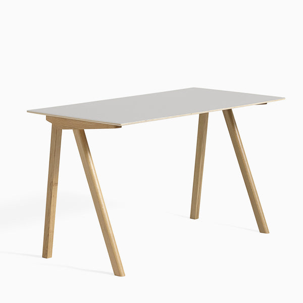 HAY CPH90 Desk Off White Clear Lacquered Oak