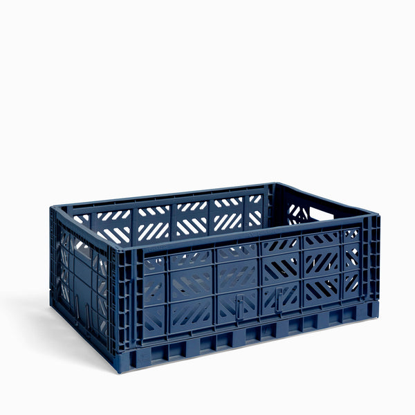 HAY Colour Crate Large Navy