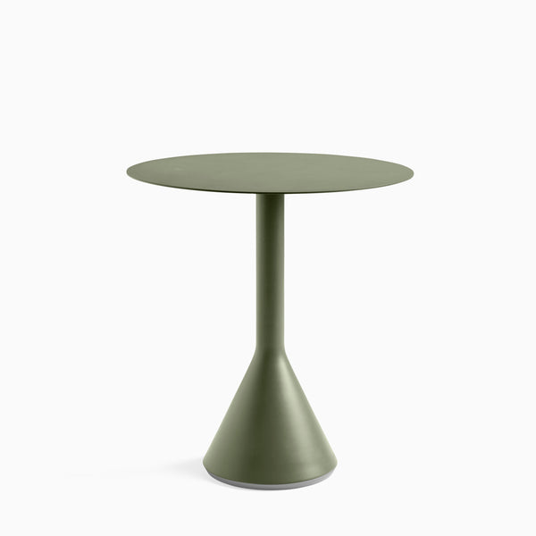 HAY Palissade Cone Table 70cm Olive