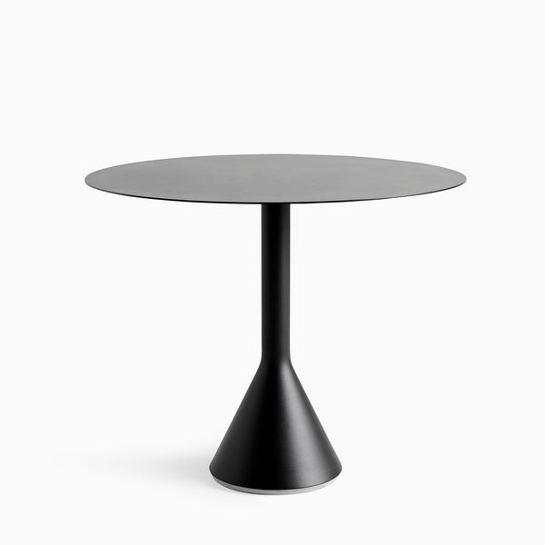 HAY Palissade Conne Table 90cm Anthracite