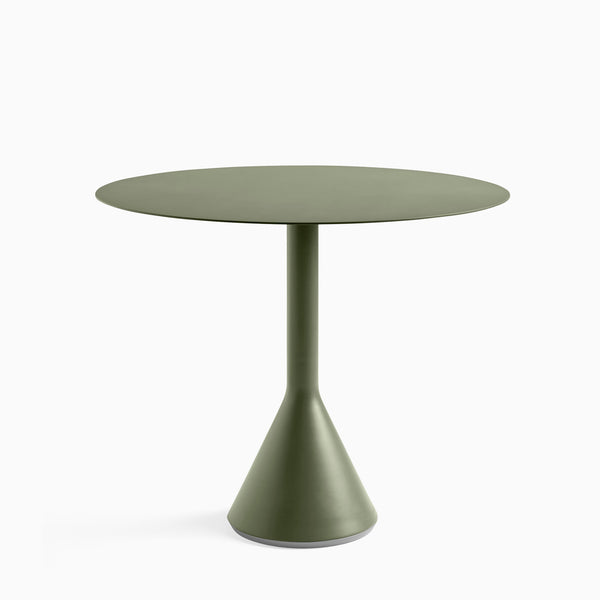 HAY Palissade Cone Table 90cm Olive