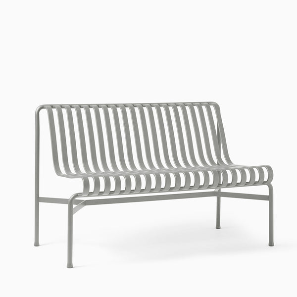 HAY Palissade Dining Bench Without Arms Sky Grey